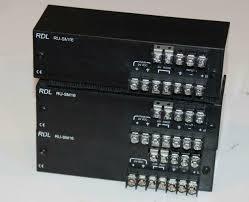 Radio Design Labs 3 Count Lot Radio Design Labs Rdl Ru Sm16 Dual Audio Meter S 2 Channel