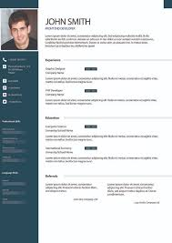 example 3 - I will design Resume, awesome Cv for you for $5