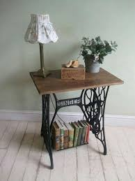 i love this so i did it mine looks pretty much the same lol vine furniture recycling old sewing machines