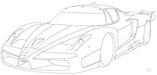 Coloring Pages Ferrari Coloring Pages Pdf Speed Turbo Page Car