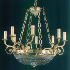 12 light candle style chandelier