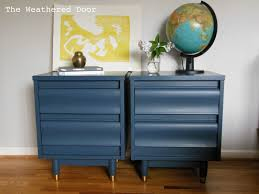 distressed blue furniture. Navy Mc Nightstands Wd Blue Nightstand Riverside Furniture Drawer Pink White Skinny Distressed Tall Oversized Floating Silver Bedside Table Metal Espresso T