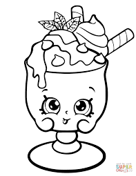 Related Image Daryas 6th Shopkins Party Shopkin Coloring Pages
