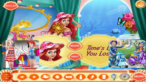 disney princess mermaid makeup room s game