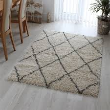 logan rug diamond ivory grey