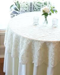 fancy tablecloths ivory round tablecloth impressive lace promotion for promotional with regard to mode