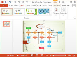 Ppt Flow Chart Template Flowcharts In Powerpoint
