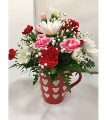 Pictures Of Hearts And Flowers Hearts And Flowers Mug Maquoketa Ia Florist