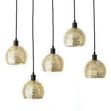 shimmer pendant light gold kitchen