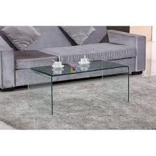 clear glass modern nesttables set of 3 living room nesting coffee sidetables loading zoom