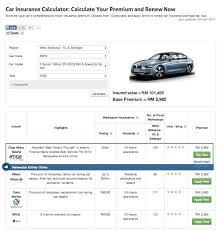 car insurance premium calculator quotes