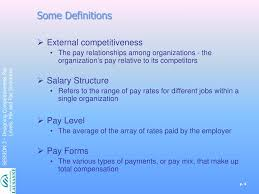 Designing Pay Levels Mix And Pay Structures Ppt External Equity Powerpoint Presentation Free Download