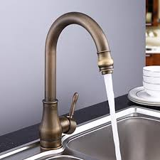 antique brass faucet. Features: Antique Brass Faucet R