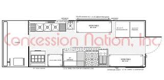 floorplans food trucks food trailers mobile kitchen floor plan 16 ft truck box