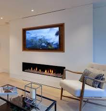 tv on top of fireplace recessed above fireplace tv on top of fireplace too high