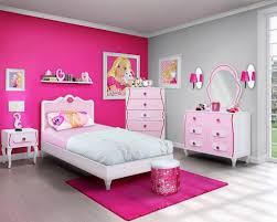 Pink Girls Bedroom Barbie Themed Bedroom