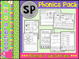 Phonics: L R S Blends Super Pack by TeachersToolkit - Teaching ...