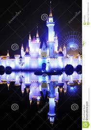 Fairy Castle Night Light Fairy Castle In The Night Of Shijingshan Amusement Park