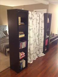 creative of tension rod room divider best 25 room divider curtain ideas on