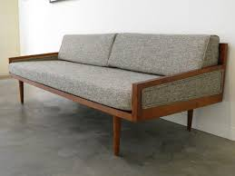 mid century modern sleeper sofa contemporary the home redesign with regard to midcentury prepare furniture