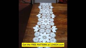 Crochet Table Runner Patterns Easy Magnificent Inspiration