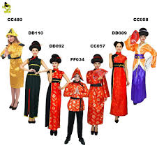 Ancient Chinese Clothing Designs Ancient Chinese National Costume Traditional Chinese Garments Man Women Tang Suit Female Fancy Sheongsam Han Clothing Cosplay