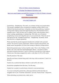 cause effect essays a rainy day essay paraphrasing in nuvolexa eng 121 week 3 journal paraphrasing by leonardjonh77 issuu p paraphrasing in essays essay medium