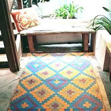 fab habitat outdoor rug for patio indoor plastic rugs new ha cancun