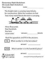 Free Printable Math Worksheets 2nd Grade Place Value Expanded Form ...