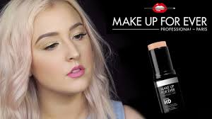 first impressions makeup forever stick foundation normal dry skin review you