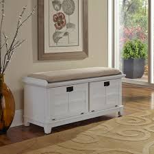 white entryway furniture. Alcott Hill Lakeview Wood Entryway Storage Bench In White For Home Furniture Ideas