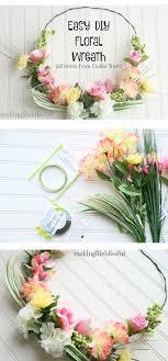 pin and save beautiful dollar tree wreath tutorial