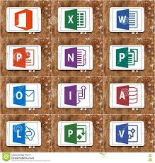 Brown Microsoft Office Microsoft Office Word Excel Powerpoint Editorial Photo Image Of