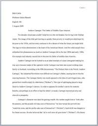 e essay writing example of mla essay