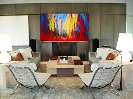 Painting For Living Rooms How To Decorate With Paintings Home Caprice