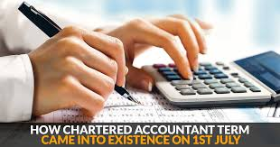 Charted Accountant How Chartered Accountant Term Came Into Existence On 1st
