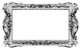 vintage black frame. Vintage Photo Frames \u2013 6 Black Frame
