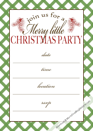 Holiday Party Template To Get Ideas How To Make Your Own Party