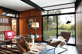 Retro home office Modern 16 Spectacular Mid Century Modern Home Office Designs For Retro Feel Architecture Art Designs 16 Spectacular Midcentury Modern Home Office Designs For Retro Feel