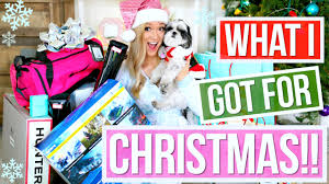 For Christmas What I Got For Christmas 2015 Alisha Marie Youtube