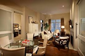 Glamorous Living Room Dining Room Combo Townhouse Small Ideas