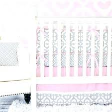 pink grey and white nursery pink and gray baby room gray and pink mod baby bedding pink grey and white nursery
