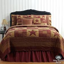country duvet covers quilts country rustic western star twin queen cal king quilt bedding set accessories