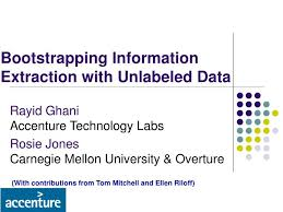 Ppt Bootstrapping Information Extraction With Unlabeled Data