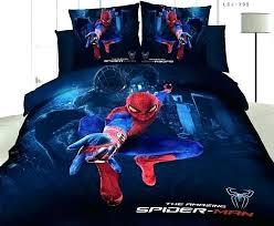 bedding queen comforter set toddler bed grey blue sheets spiderman for