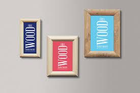 free wood frames mockup new