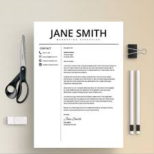 Does Word Have A Resume Template Stunning Professional Resume Template Design Which Can Be Fully Edited In