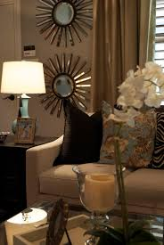 Mirrors Decorative Living Room Eye For Design Decorate With The Iconic Sunburst Mirror