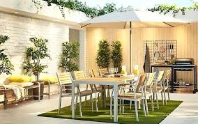 ikea outdoor furniture review. Contemporary Review Ikea Garden Furniture A Large Modern Outdoor Dining Setting With Two Sets  Of Tables And 4   To Ikea Outdoor Furniture Review N