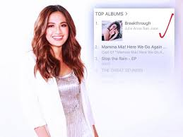 Itunes Philippines Album Chart Look Julie Anne San Joses Latest Album Breaks Through